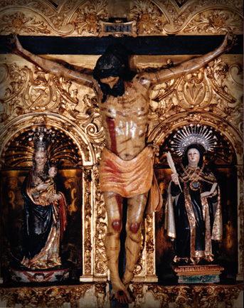 Christ of Love - Crucifix in San Jose, Avila