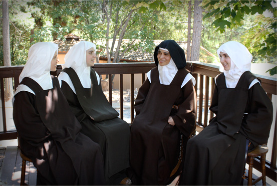 Novitiate with Mistress of Novices